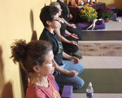 Class In Meditation
